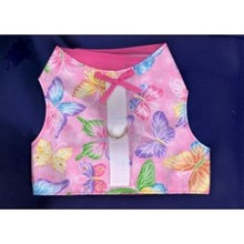 Harness Vests for YOUR IG - Size Medium -Sparkling Butterflies [jl} 12315Butterfly