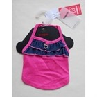 Dress Net Pink and Navy PUPPIA size S [cm] 60133 S
