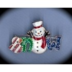 Vintage Snowman Pin for the Holidays! [kd] 54110