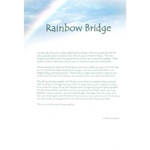 Rainbow Bridge Poem [celest] 29001