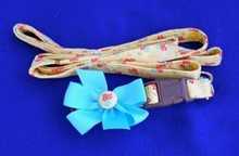Fancy IG Collar & Leash Set - Blue Sunshine [cm] 12065H