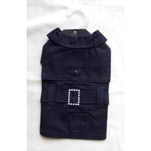 Dress -Dark Navy Dress Coat PUPPIA size S [cm] 60061 s