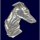 Designs in Polished Pewter - IG Head Pin [kd] 53011 H